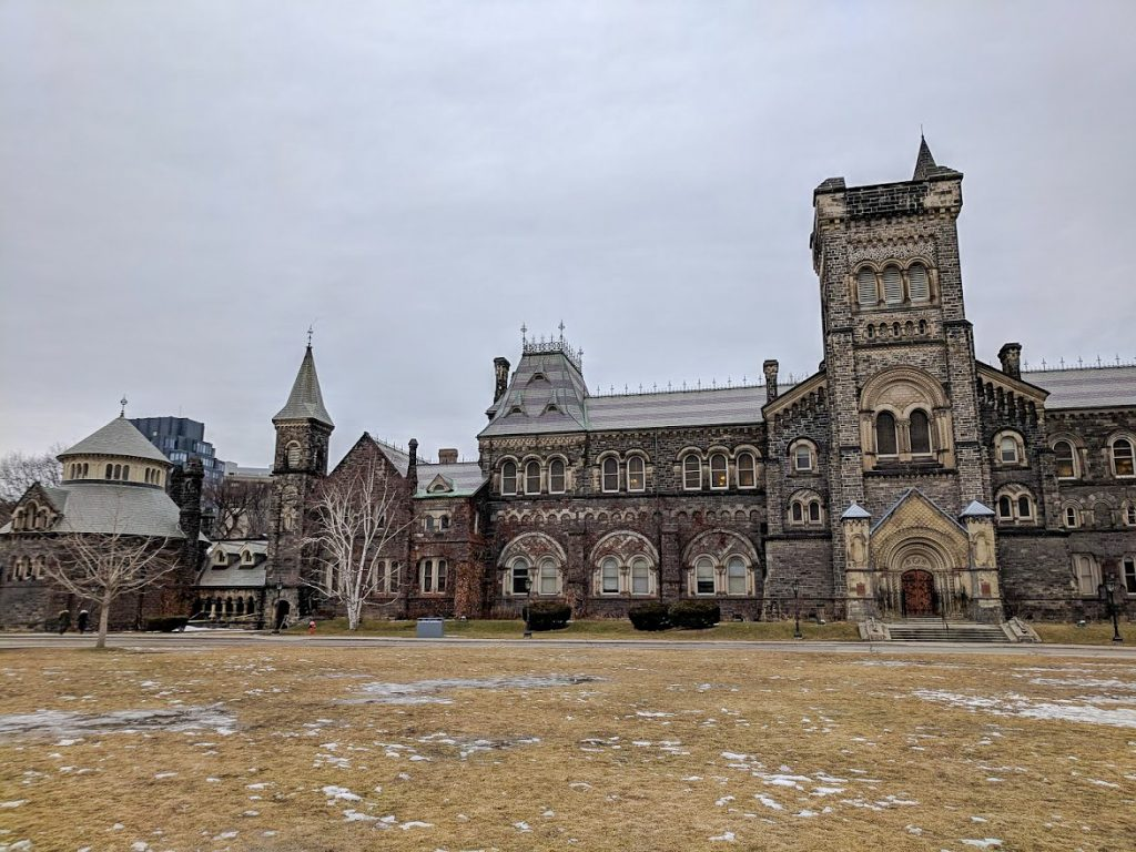 Kings College Building at the University of Toronto
