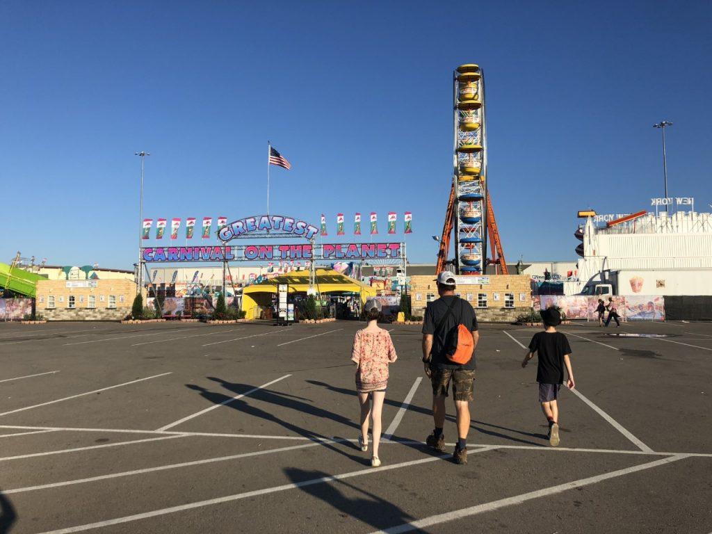 Oklahoma State Fair entrance