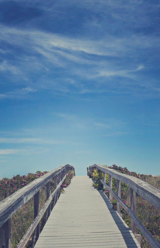Boardwalk in Sandwich, Cape Cod