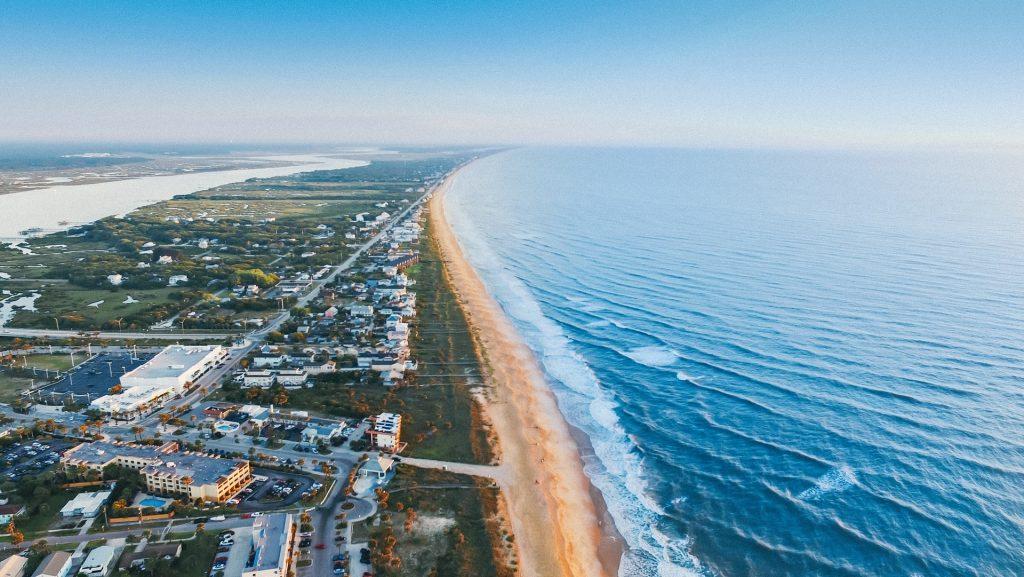 St Augustine Florida Coastline
