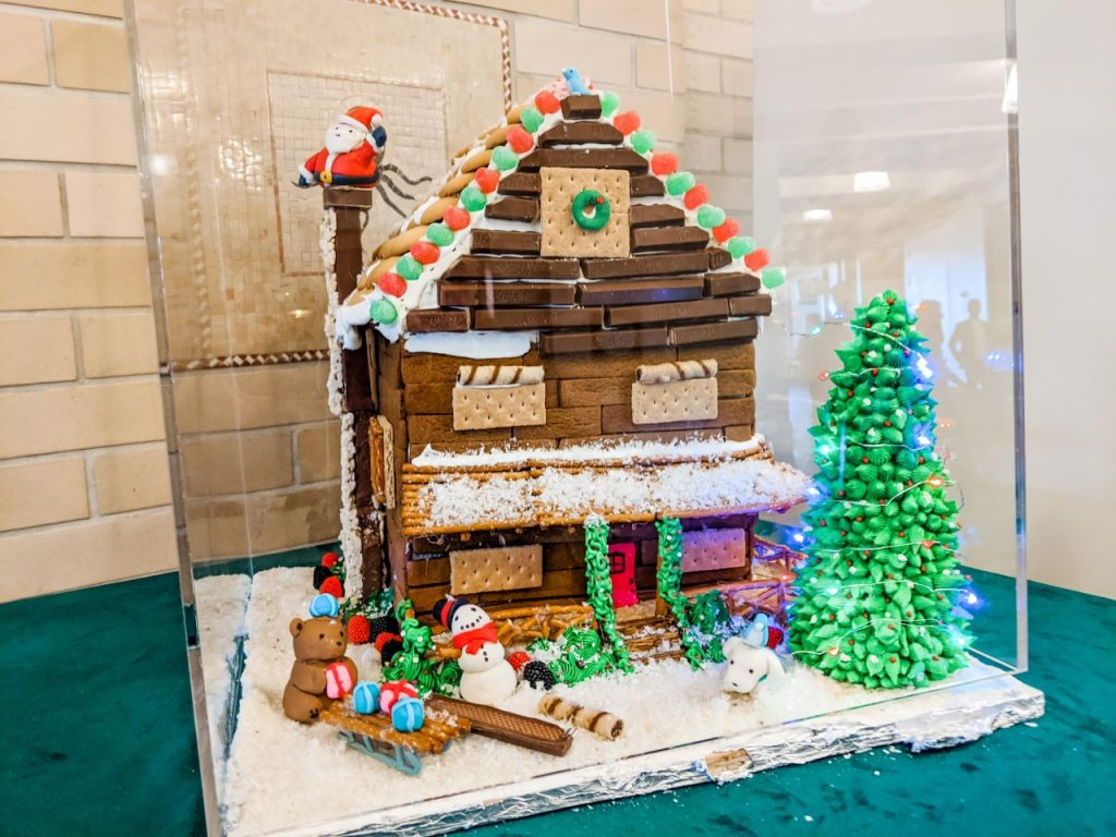 Ferry building gingerbread house