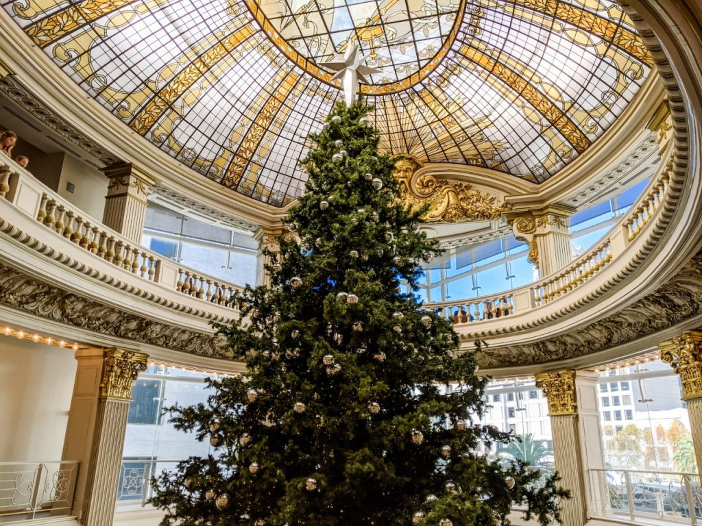 Neiman Marcus Christmas Tree San Francisco