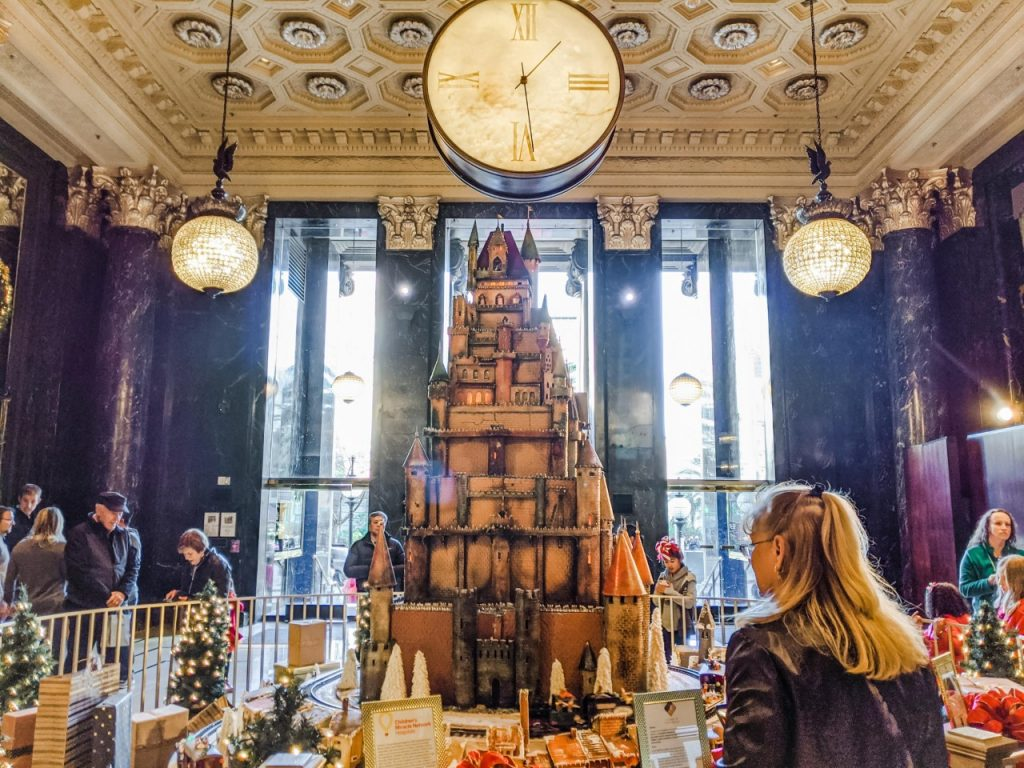 Westin St Francis Gingerbread Castle