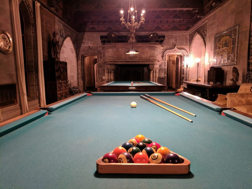 Billiard Table at Hearst Castle