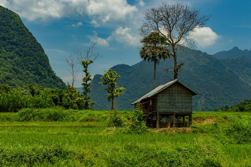 Muang Ngoy in Laos