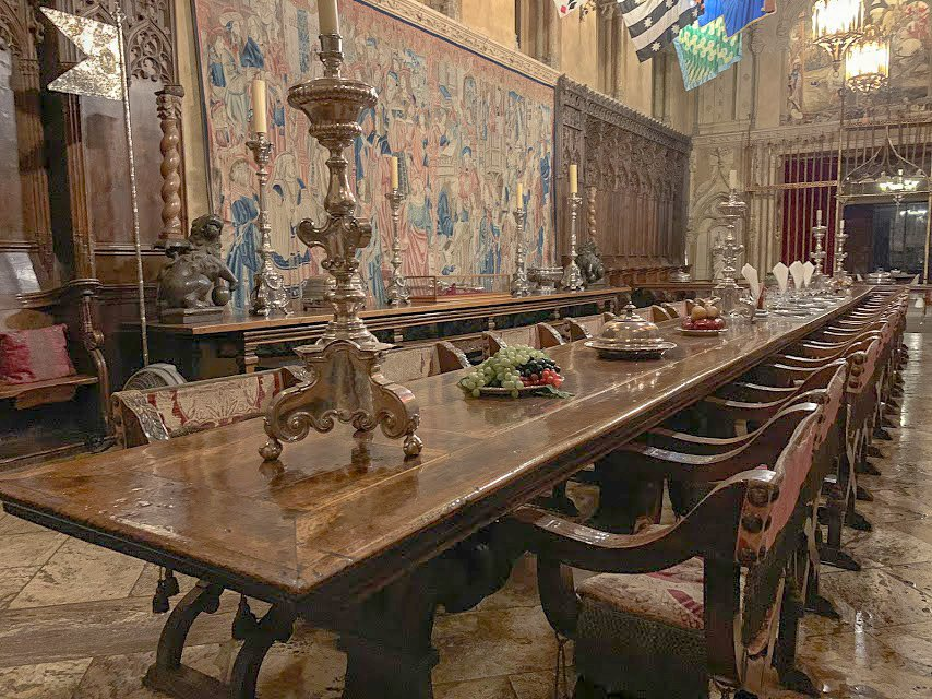 Hearst Castle Refectory or Dining Hall
