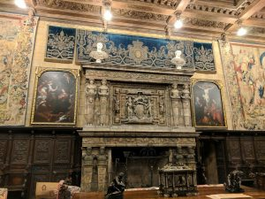 Hearst Castle Fireplace