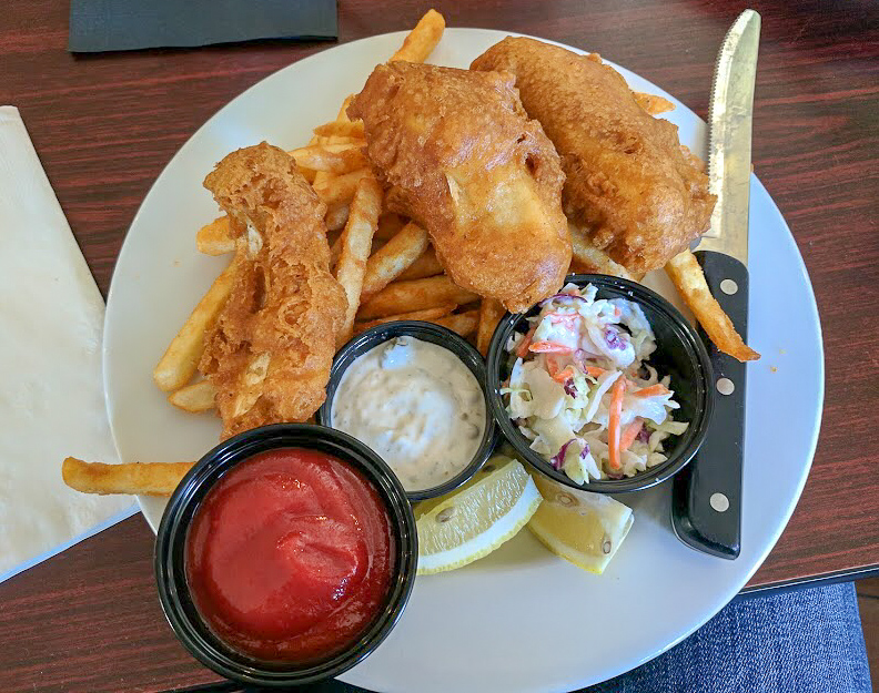 Fish and Chips from Cambria Pub & Steakhouse