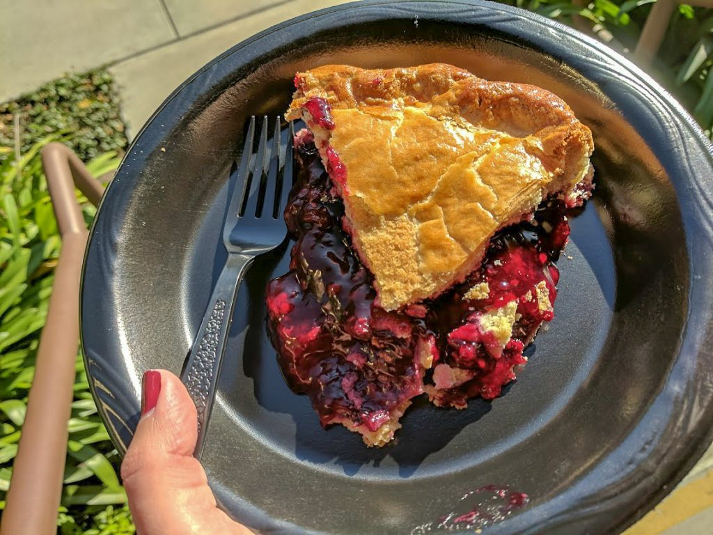 Ollalieberry pie in Cambria