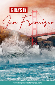 A 6 day #itinerary to a #SanFrancisco trip
