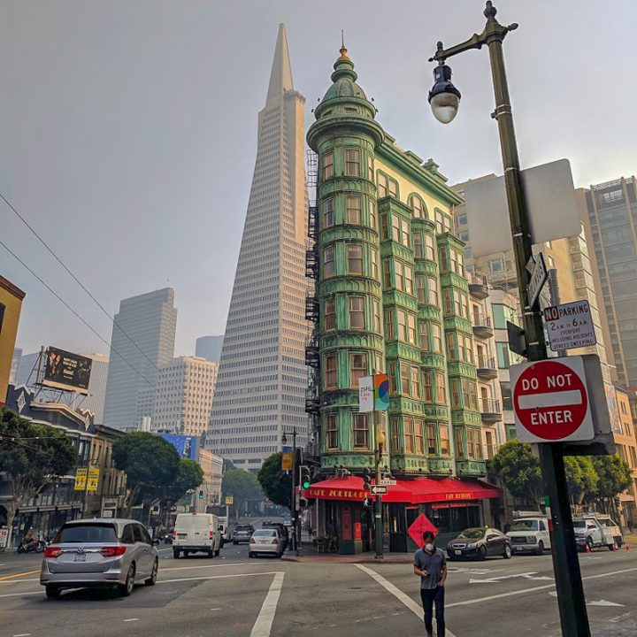 Francis Ford Coppola's cafe in San Francisco