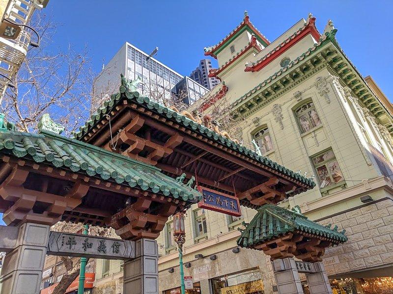Chinatown Dragon Gate