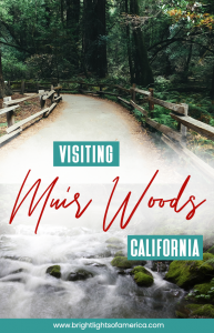 Visiting Muir Woods from San Francisco takes a little bit of planning. Here is everything you need to know about planning a successful trip to Muir Woods, California. #MuirWoods #ThingstodoinSanFrancisco