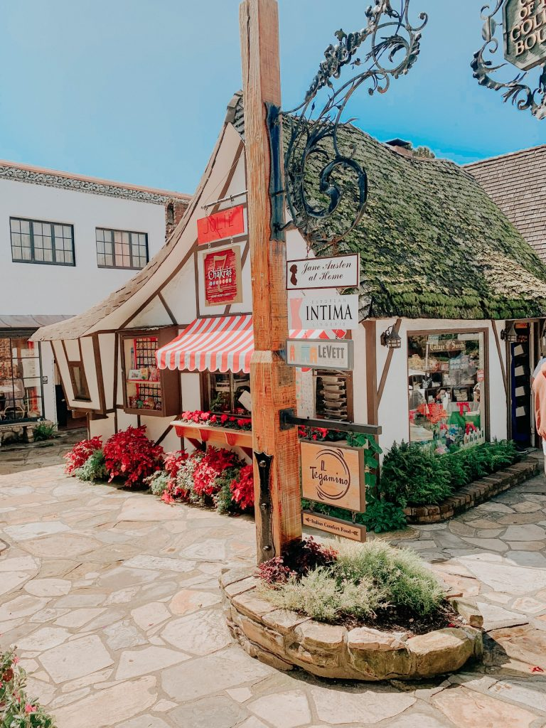 Shop front in Carmel by the Sea