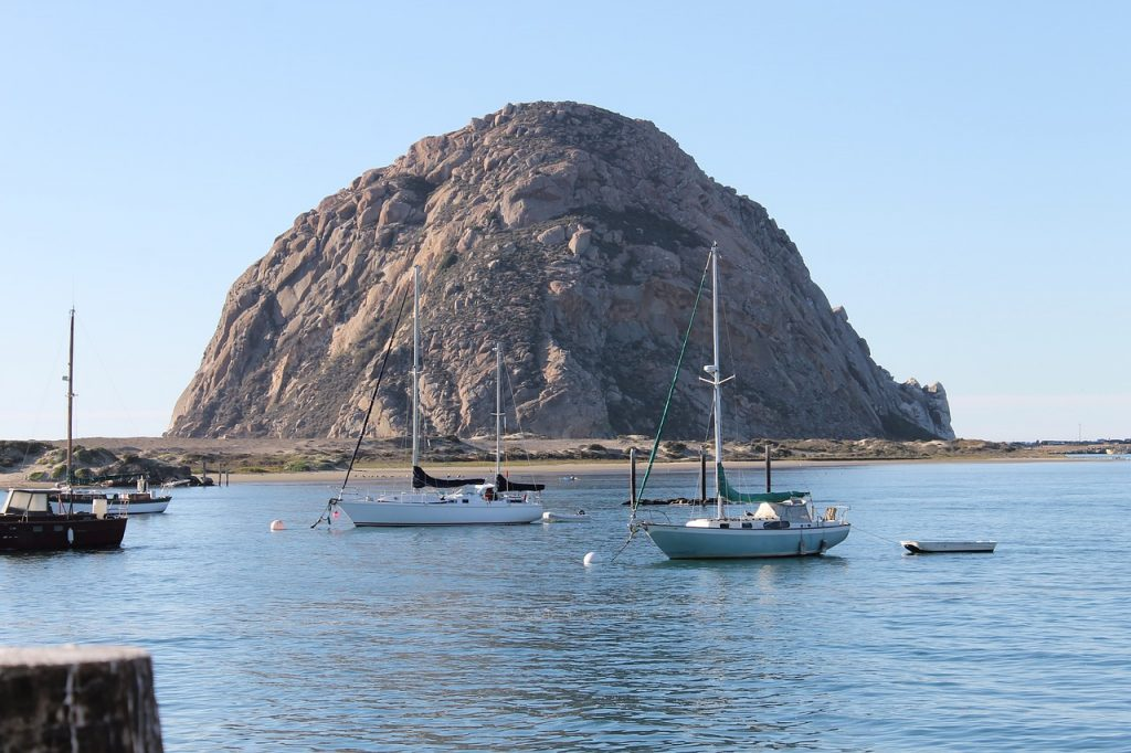 Morro Rock in San Luis Obispo