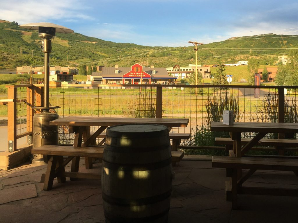 Butcherknife Brewing Company patio
