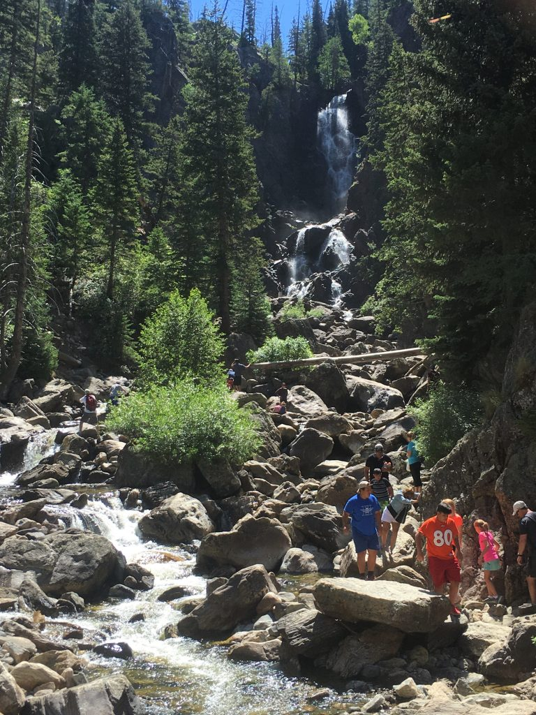 Fish Creek Falls Colorado Springs