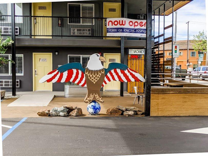 Americana Modern Hotel Bald Eagle
