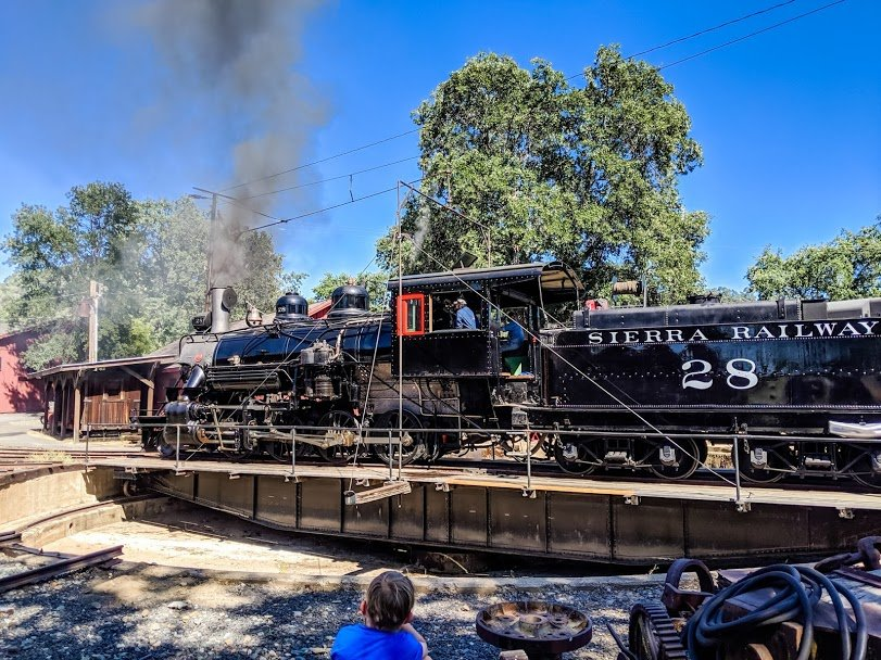 Travel back in time on a Jamestown train ride