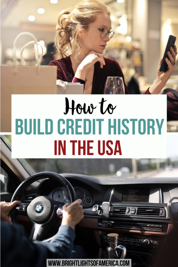 How to build credit history in the USA