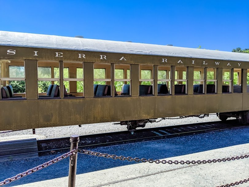 Sierra Railway train car