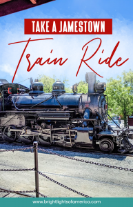 Visit #Jamestown in California and ride a #steamtrain or #dieseltrain from the gold rush era!