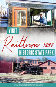 Visit the historic mother lode town of #Jamestown in California, and ride a steamtrain at #Railtown 1897 Historic State Park