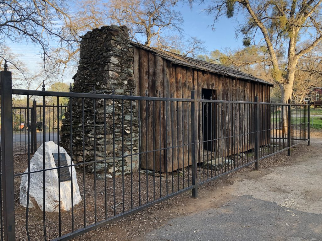 Mark Twain's Cabin in Sonora, California