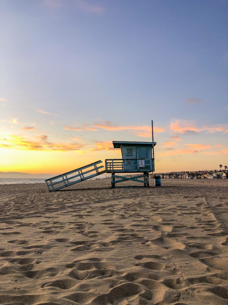 Hermosa Beach in Los Angeles