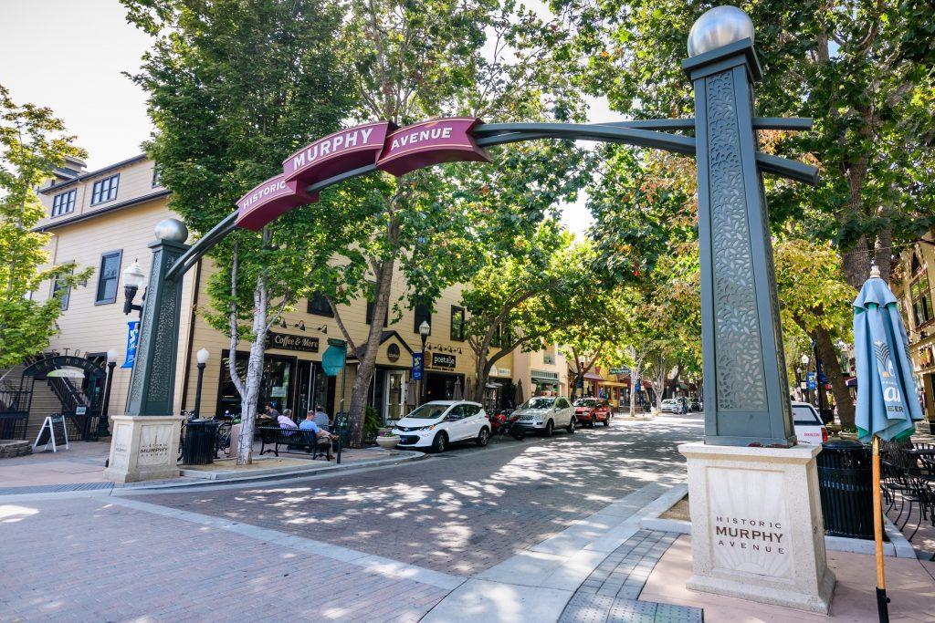 Sunnyvale Murphy Historic Avenue
