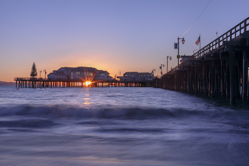 Stearns Wharf Pier, West Beach Santa Barbara