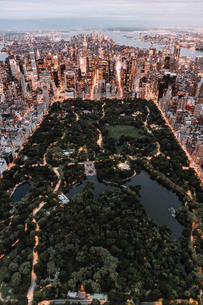 Central Park Ariel View