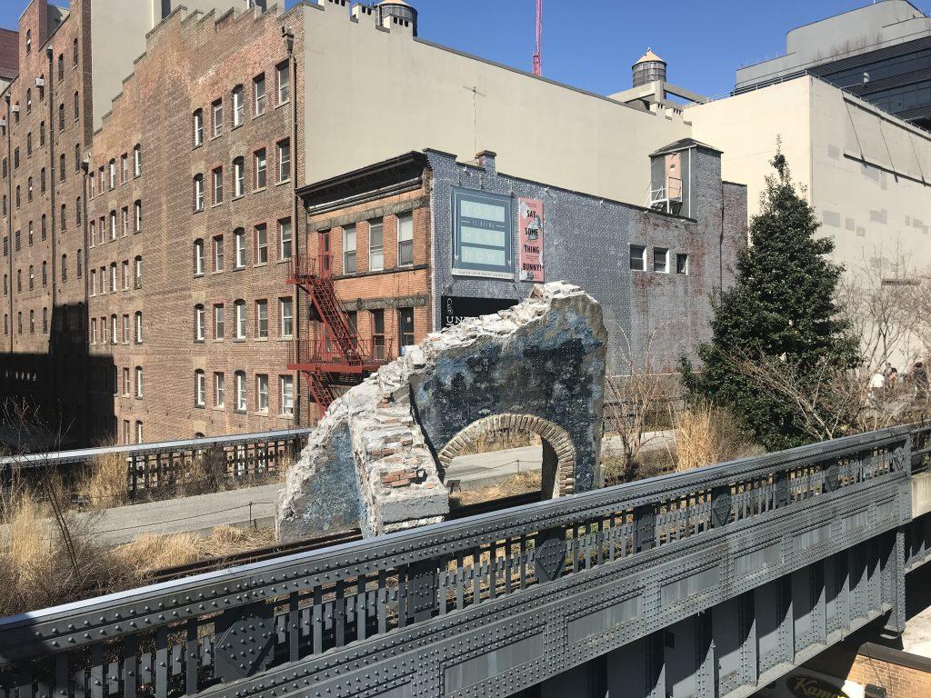 Highline in New York.