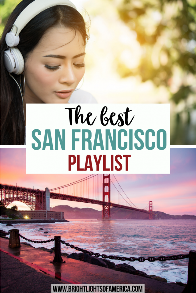 Need a playlist to listen to while visiting San Francisco? Or maybe you want to remember the atmosphere of your last trip to the city by the bay? San Francisco playlist | best San Francisco songs | San Francisco music