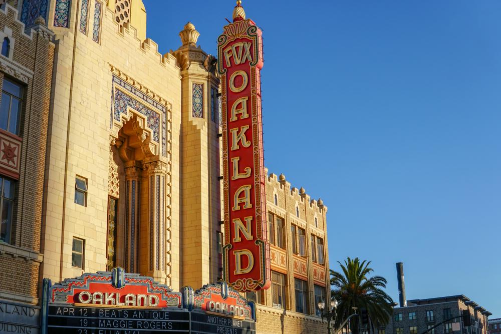 Oakland California Theater