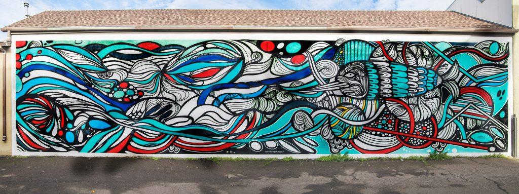 Bojh Parker Fish Mural
