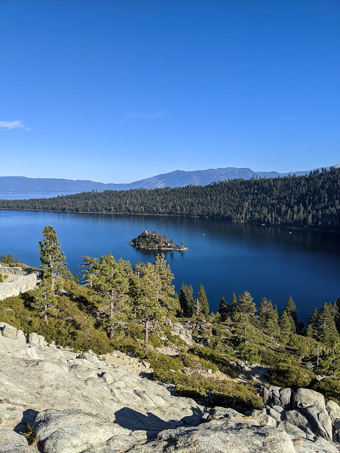 Fanette Island Lake Tahoe