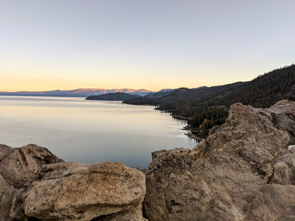 Lake Tahoe in Fall