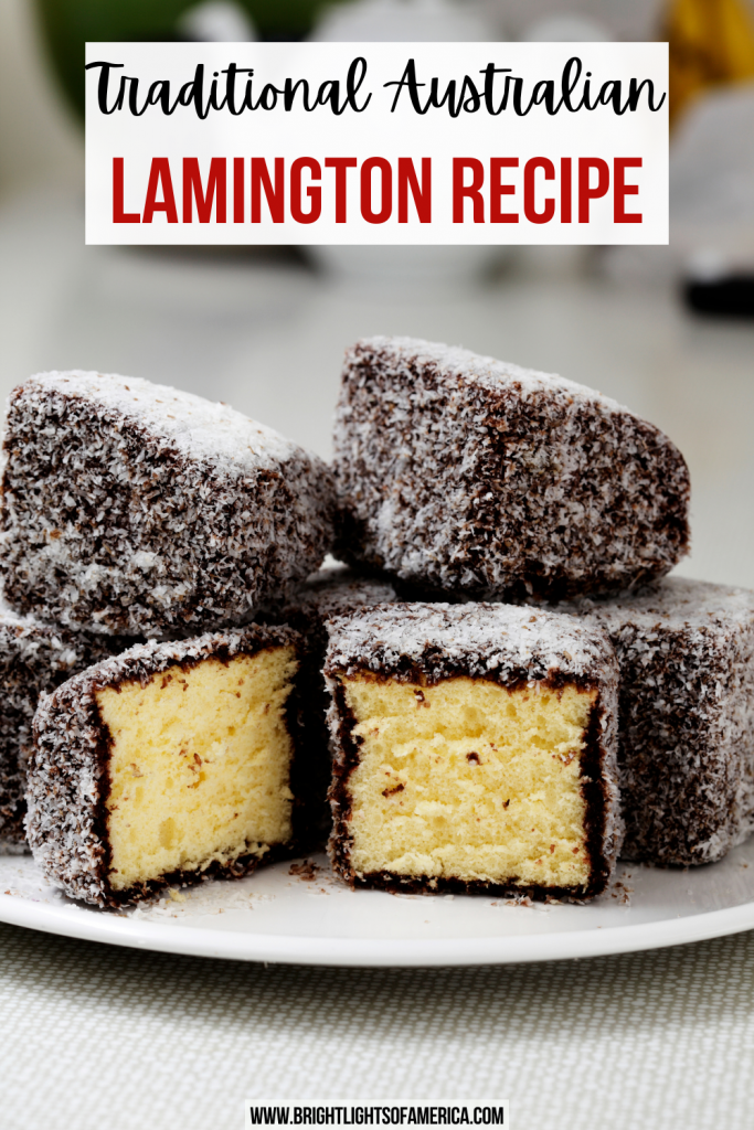 Australian Lamington Recipe
