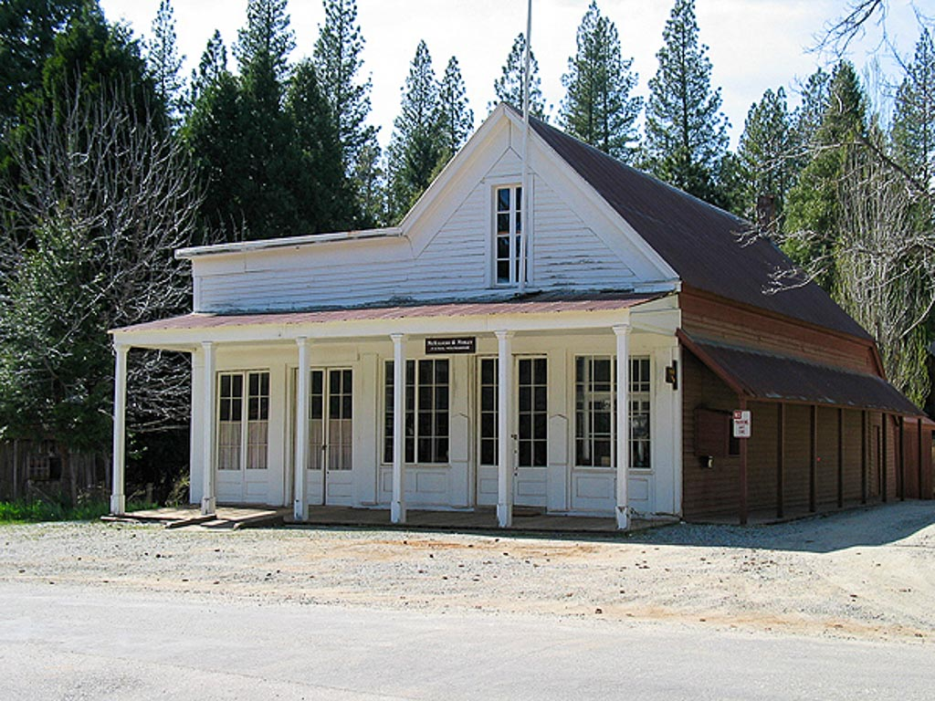 Malakoff Diggins Ghost Town building