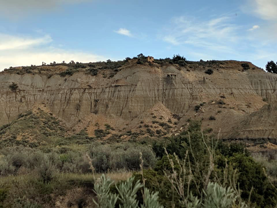 Painted Canyon in Theodore Roosevelt National Park