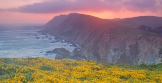 Sunset at Point Reyes National Seashore